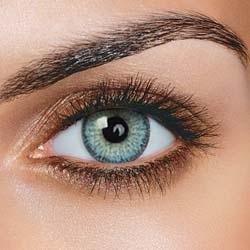 Fargede kontaktlinser