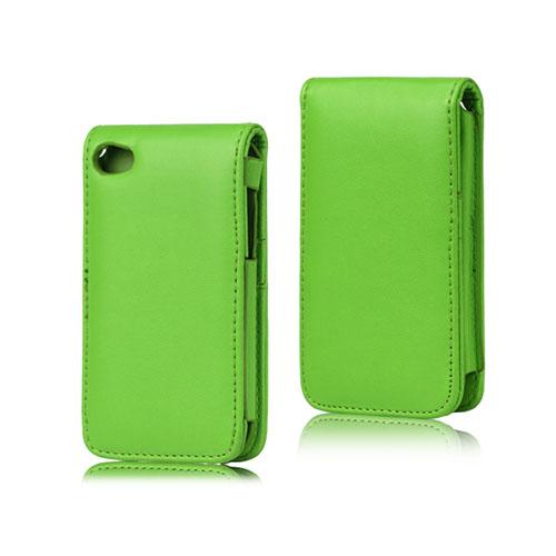 Bilde av Beta (grønn) Ipod Touch 4 Lær Flipp Deksel
