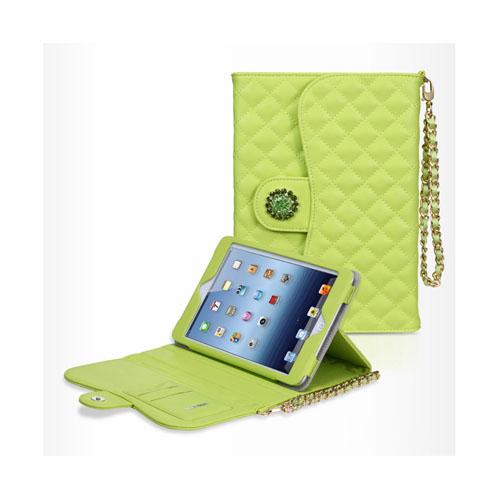 Bilde av Takefans Rhombus (grønn) Ipad Mini Flipp Deksel