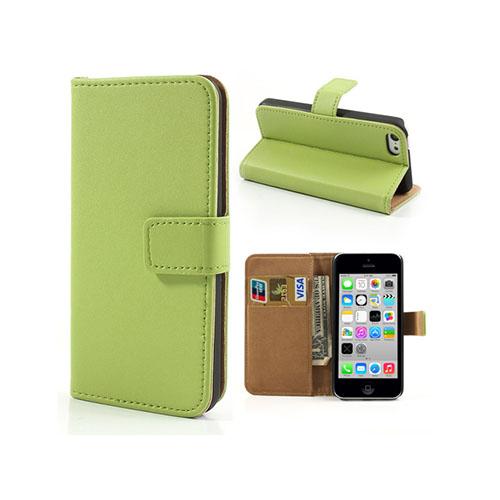 Bilde av Alexander (grønn) Iphone 5c Lærdeksel