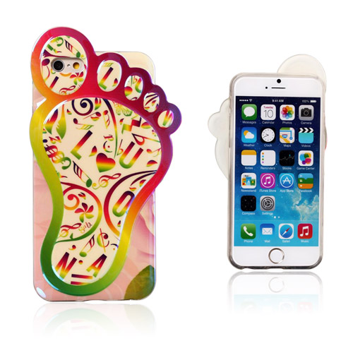 Bilde av 3D Foot (Musikk Noter) iPhone 6 Deksel
