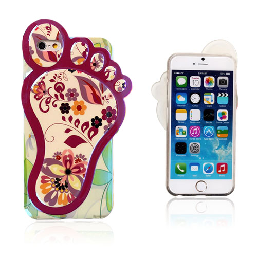 3D Foot (Sjarmerende Flora) iPhone 6 Deksel