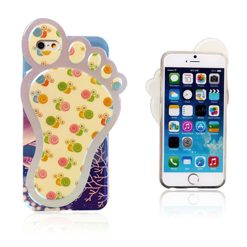 3D Foot (Søt snegler) iPhone 6 Deksel
