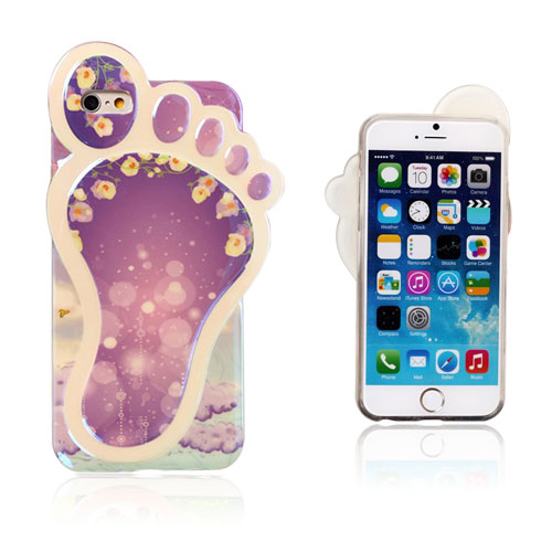 Bilde av 3D Foot (Morning Glory) iPhone 6 Deksel