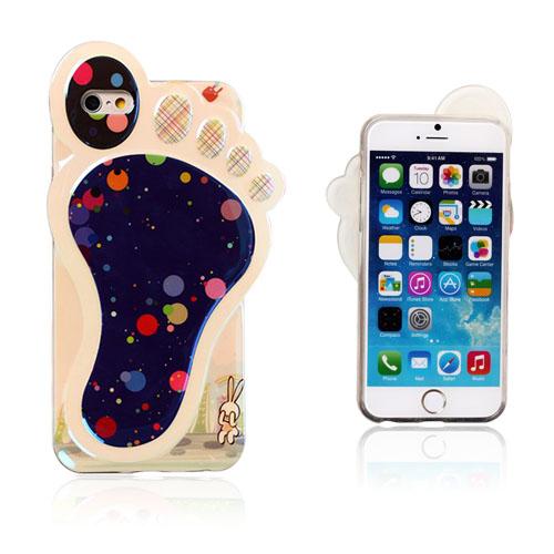 Bilde av 3d Foot (fargerik Prikker) Iphone 6 Deksel