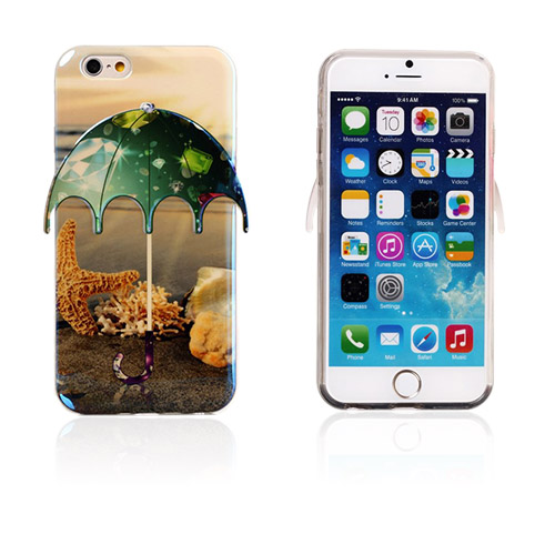 Bilde av 3d Umbrella (starfish - Diamonds) Iphone 6 Deksel