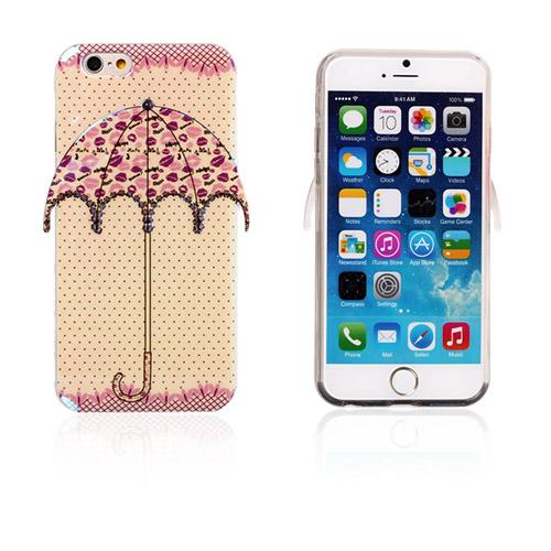 Bilde av 3d Umbrella (polka Dots - Lepper) Iphone 6 Deksel