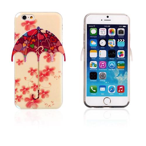 Bilde av 3d Umbrella (blomster - Hjerter) Iphone 6 Deksel