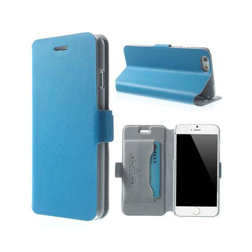 Bilde av Bellman (blå) Iphone 6 Lær Flipp Etui