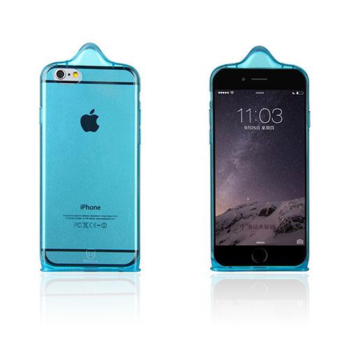Baseus Condom (Blå) iPhone 6 Deksel