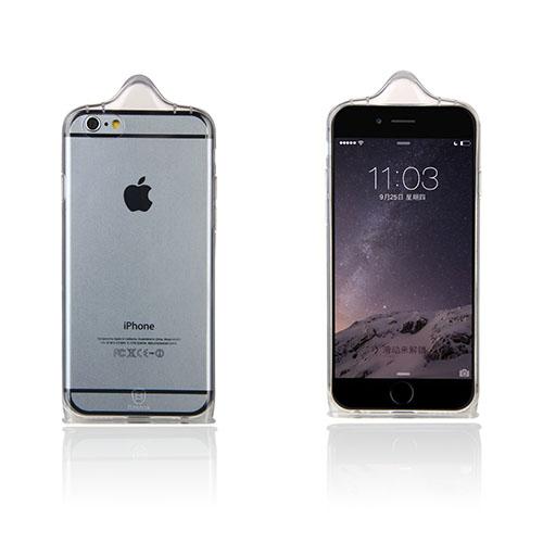 Baseus Condom (Gjennomsiktig) iPhone 6 Deksel