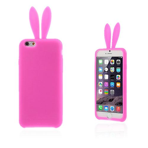 Rabbit Ears (Varm Rosa) iPhone 6 Plus Deksel