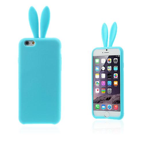 Rabbit Ears (Blå) iPhone 6 Plus Deksel