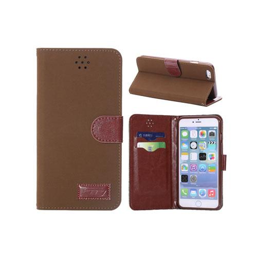 Bilde av Adler (brun) Iphone 6 Plus Lær Flip Etui