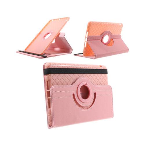 Bilde av Jessen (rosa) Ipad Mini 2 / Mini 3 Lær Rotary Stand