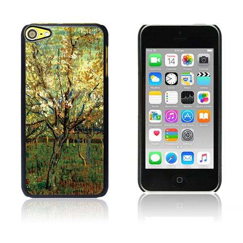 Bilde av Van Gogh Olje Malt Hard Plastikk Deksel For Ipod Touch 6 - Orchard In Blossom