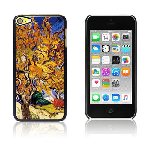 Bilde av Van Gogh Olje Malt Hard Plastikk Deksel For Ipod Touch 6 - Mulberry Tree