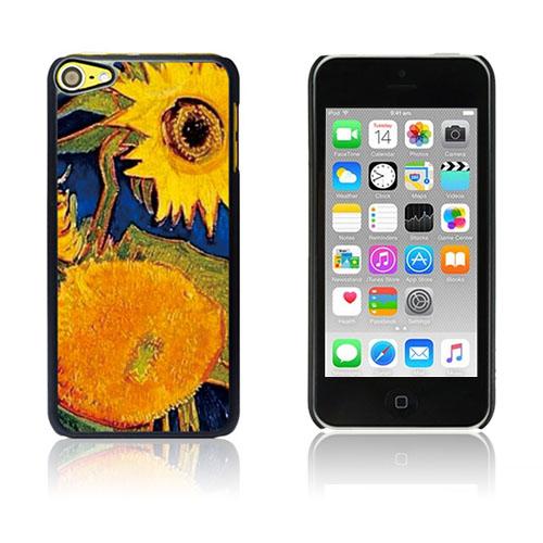 Bilde av Van Gogh Olje Malt Hard Plastikk Deksel For Ipod Touch 6 - Sunflowers