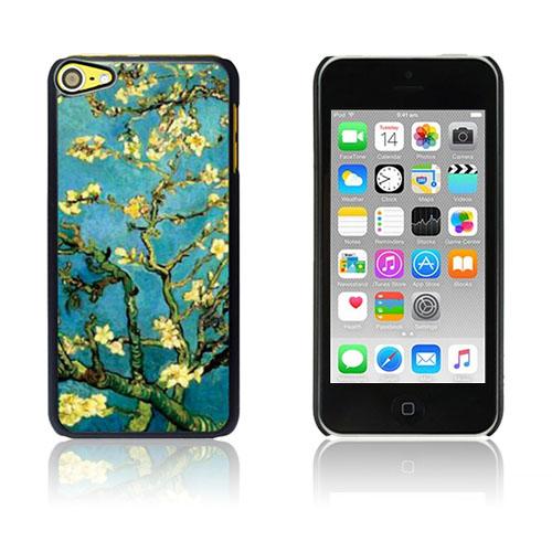 Bilde av Van Gogh Olje Malt Hard Plastikk Deksel For Ipod Touch 6 - Almond Tree In Blossom