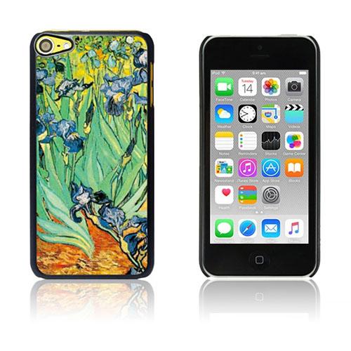 Bilde av Van Gogh Olje Malt Hard Plastikk Deksel For Ipod Touch 6 - Garden Of Irises