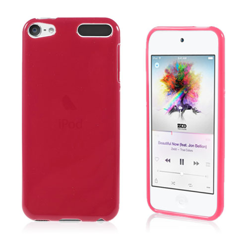 Bilde av Solid Farget Tpu Gel Deksel For Ipod Touch 6 - Red
