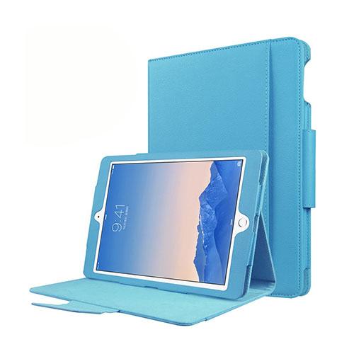 Bilde av Folio Ipad Pro 9.7 Inch Leather Stand Case - Light Blue
