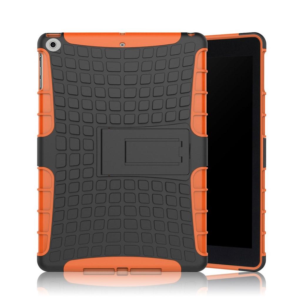 Bilde av Ipad (2017) Anti-slip Tire Pattern Tpu Case - Orange