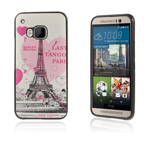 Westergaard HTC One M9 Deksel - Eiffel Tårn