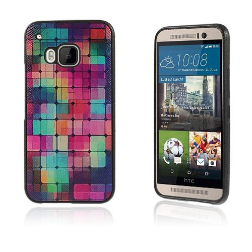 Westergaard HTC One M9 Deksel - Fargerik Squares