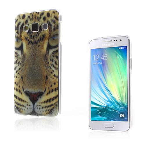 Westergaard Samsung Galaxy A3 Deksel - Livlig Leopard