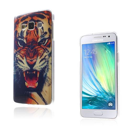 Westergaard Samsung Galaxy A3 Deksel - Skremende Tiger