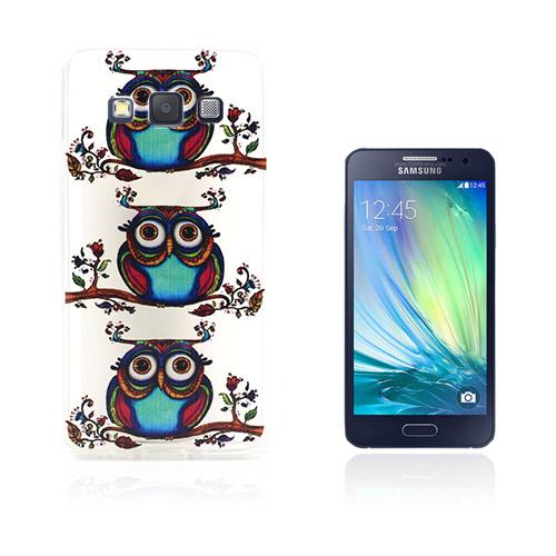 Westergaard Samsung Galaxy A3 Deksler - Tre farget ugler