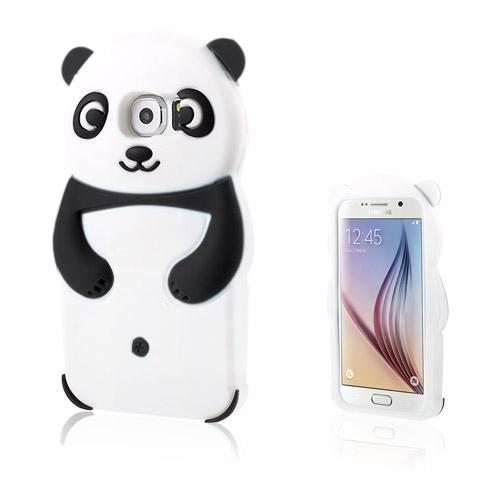 Panda Samsung Galaxy S6 Deksler - Svart