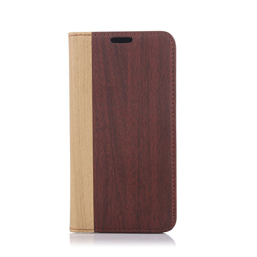 Edwood Samsung Galaxy S6 Lær Flip Etui - Vin Rød