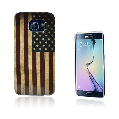 Westergaard Samsung Galaxy S6 Edge Deksler - Vintage USA Flagg