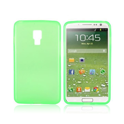 GelEtui (Grønn) Samsung Galaxy S4 Deksel