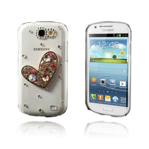 """Bilde av """"3D Bling (Heart) Samsung Galaxy Express Deksel"""""""