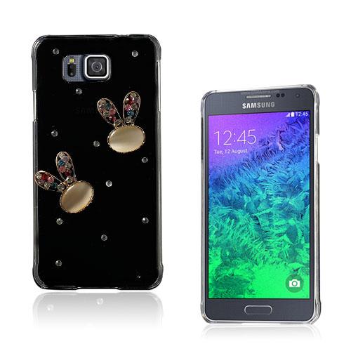 Shine Samsung Galaxy Alpha Deksel - Crystal kanin