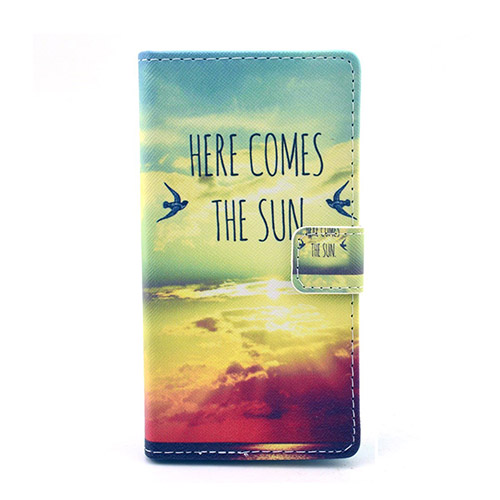 Moberg Nokia Lumia 830 Lær Stand Case - Here Comes The Sun