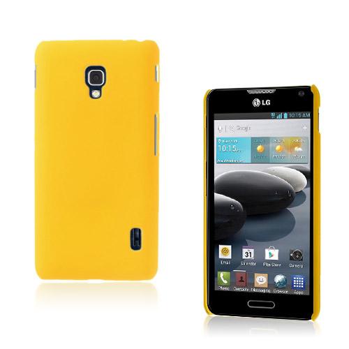 Sund LG Optimus F6 Deksel - Gul