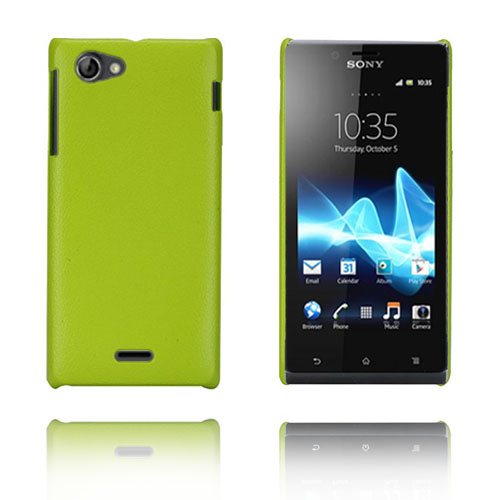 Bilde av Alpha (Grønn) Sony Xperia J Etui