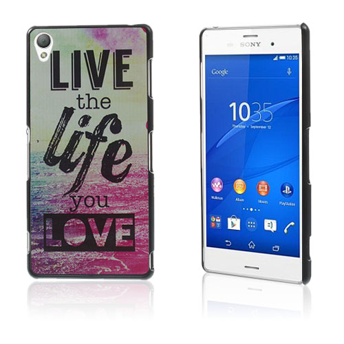 Persson (Live The Life) Sony Xperia Z3 Hard Deksel