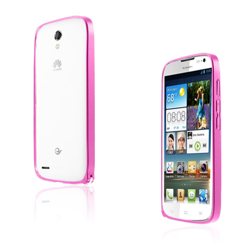 Remes (Varm Rosa) Huawei Ascend G610 Matall Bumper