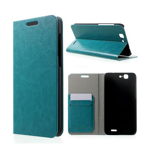 Mankell Huawei Ascend G7 Lær Flipp Etui - Blå