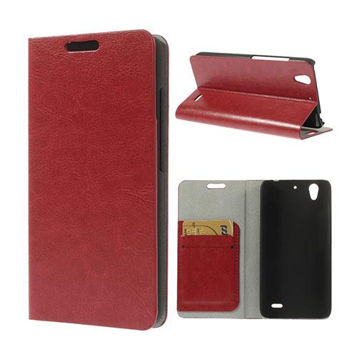 Mankell Huawei Ascend G630 Lær Flipp Etui - Rød