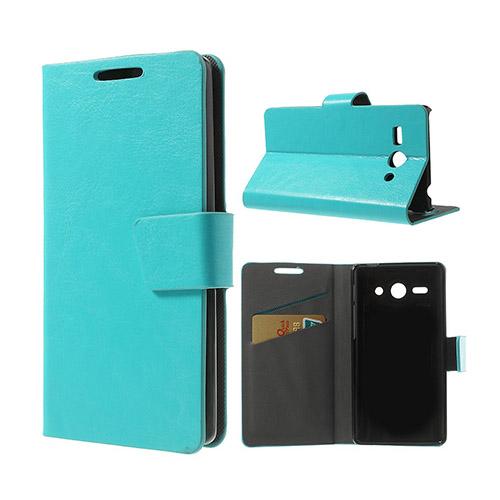 Mankell Huawei Ascend Y530 Lær Flip Etui - Blå
