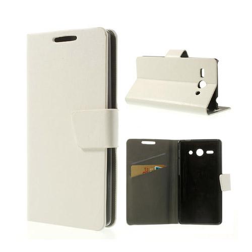 Mankell Huawei Ascend Y530 Lær Flip Etui - Hvit