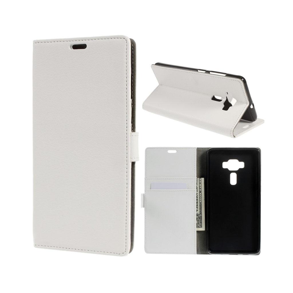 Bilde av Asus Zenfone 3 Deluxe Lommeboketui M/ Litchi Tekstur - Hvit