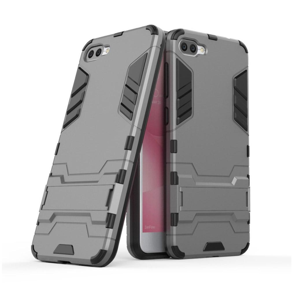 Bilde av Asus Zenfone 4 Max Zc520kl Deksel Laget Av Plastikk Og Silikon - Grått