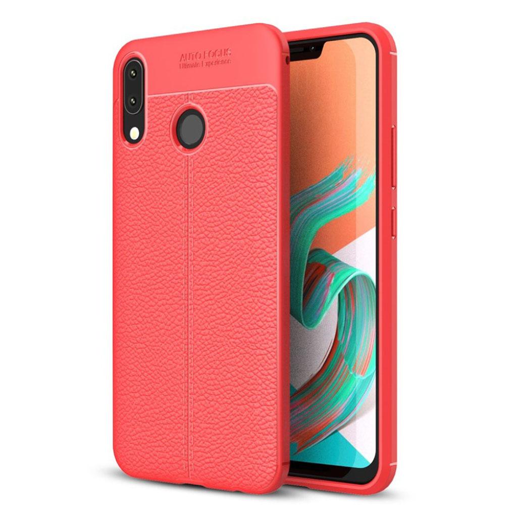 Bilde av Asus Zenfone 5 (ze620kl) Litchi Texture Case - Red